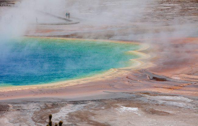 Grand Prismatic Spring - Yellowstone