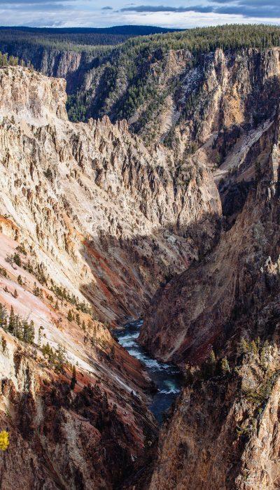 Yellowstone River Canyon - Yellowstone National Park
